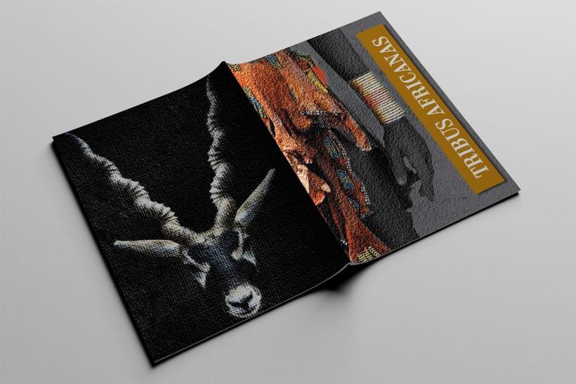 Diseño Editorial Tribus Africanas. 22