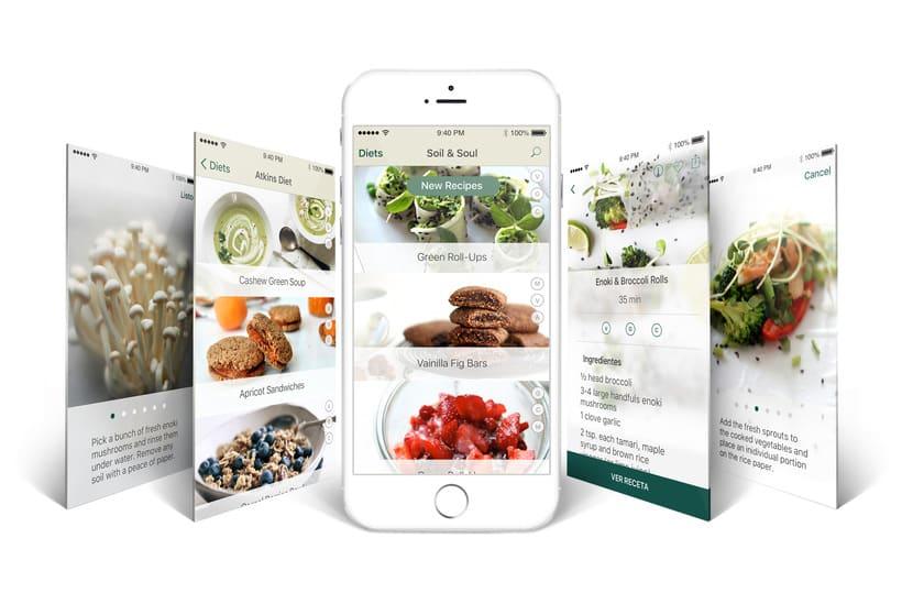 Soil & Soul - App recetario 0