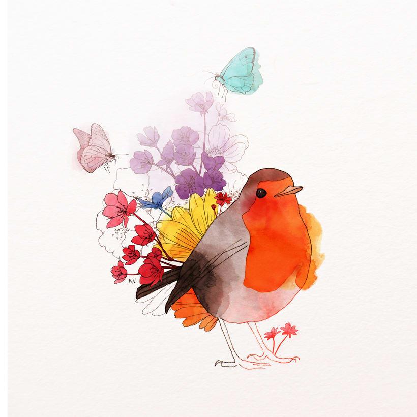 Animales florales -1