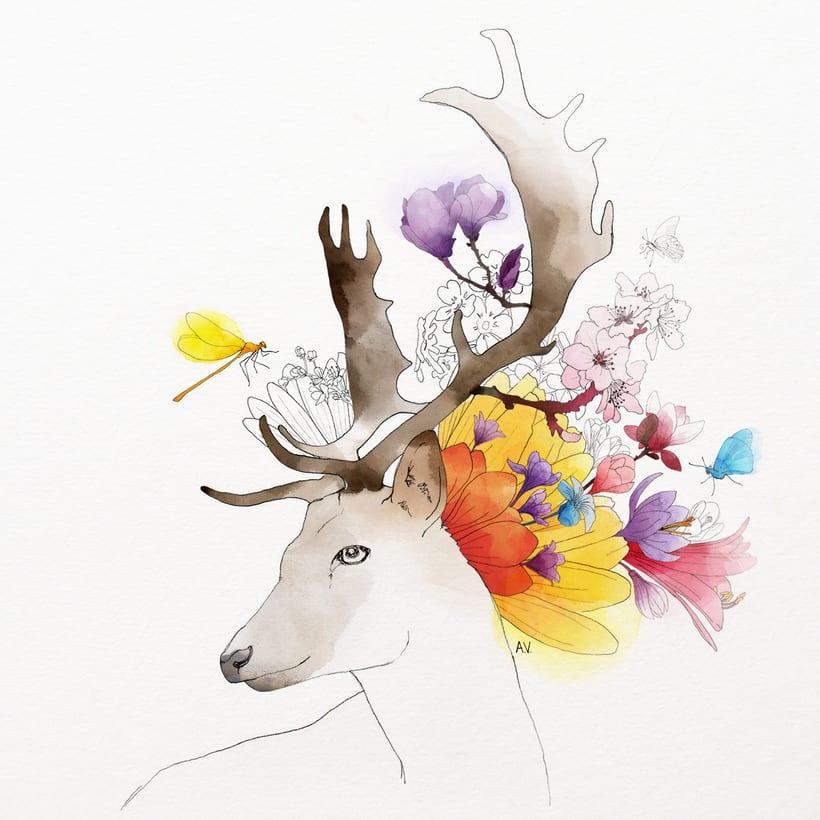 Animales florales 1