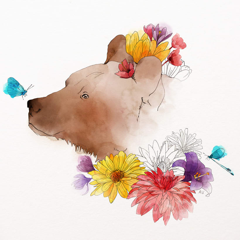 Animales florales 2