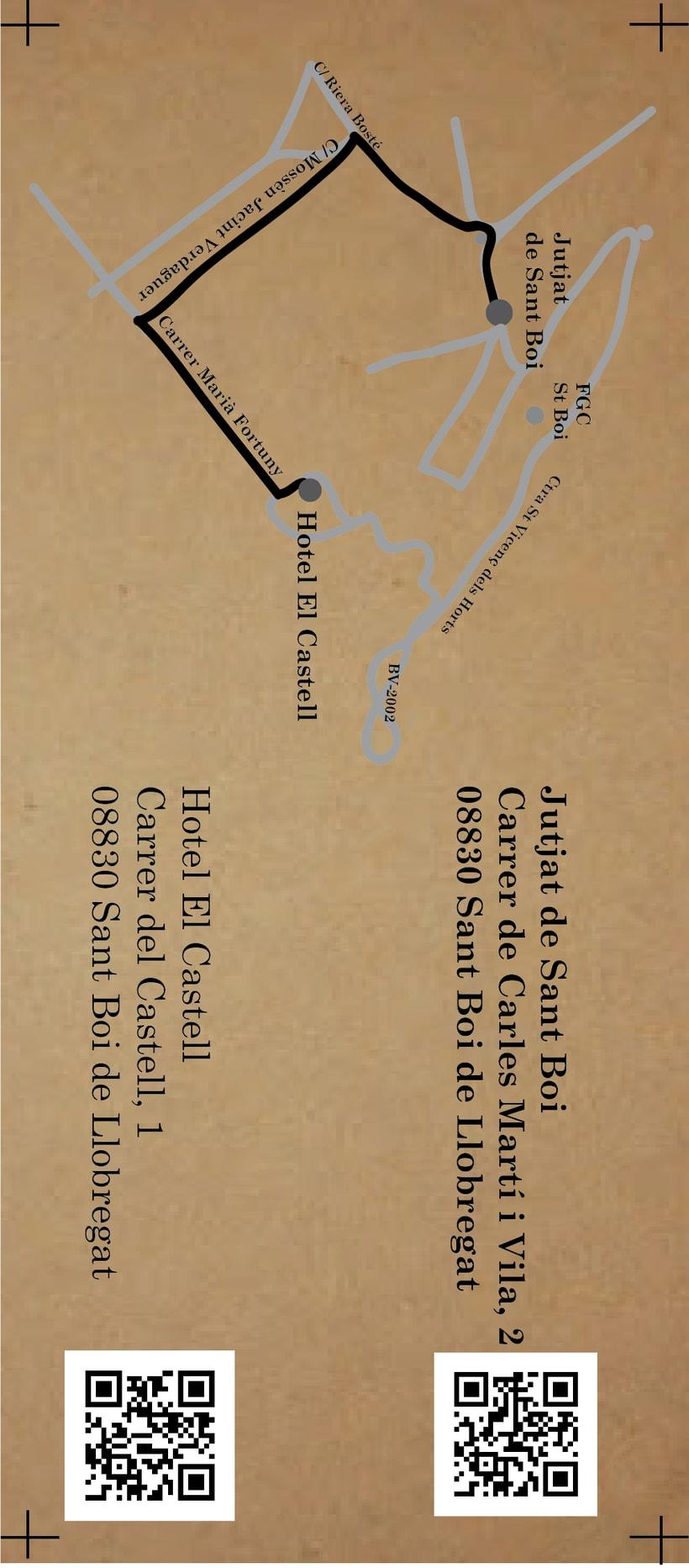 Diseño invitaciones y detalles boda G&J 7