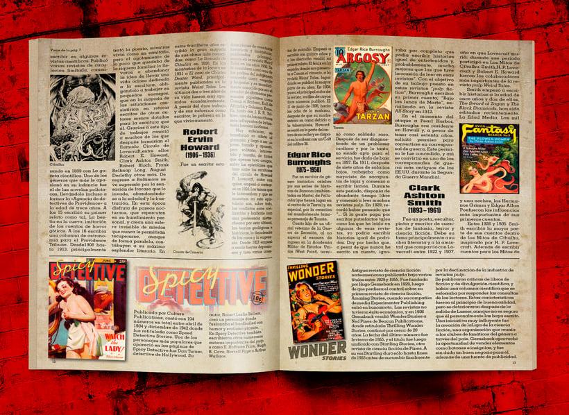 La revista de las revistas pulp 3