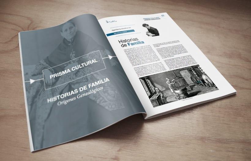 Diseño editorial. Revista N40 Revista Ilustre Colegio de Abogados ICAGR 0