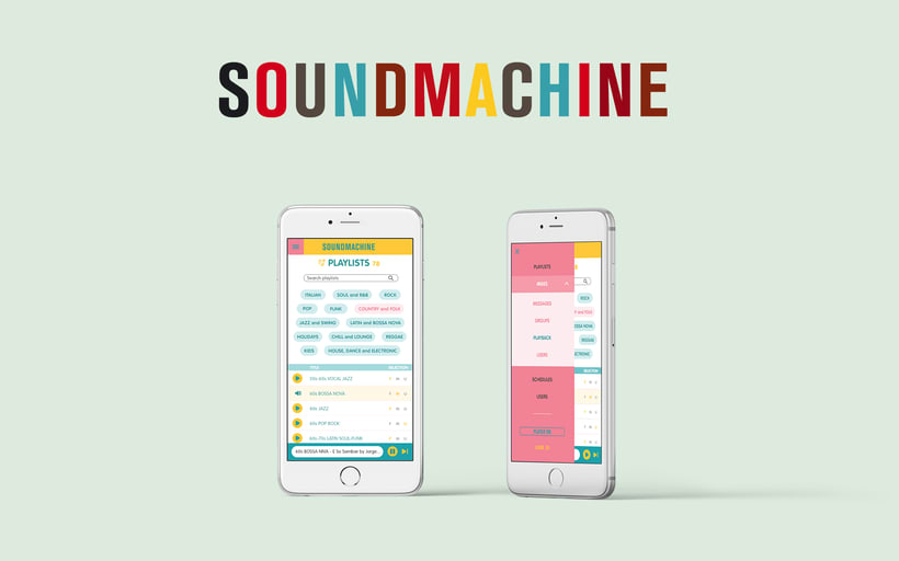 Soundmachine - plataforma musical online. 0