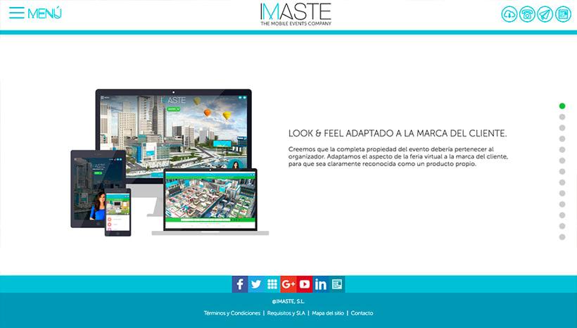 IMASTE - Web Corporativa 0