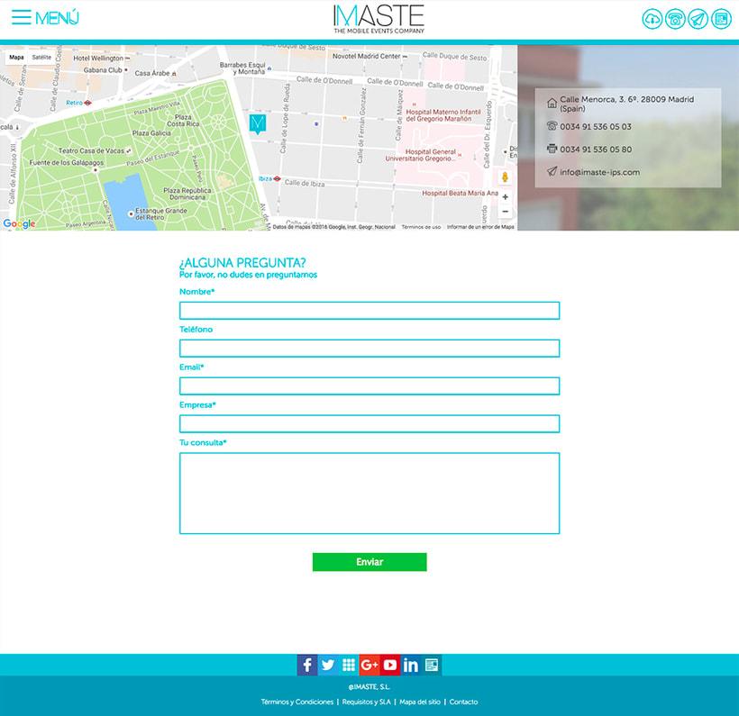 IMASTE - Web Corporativa 2