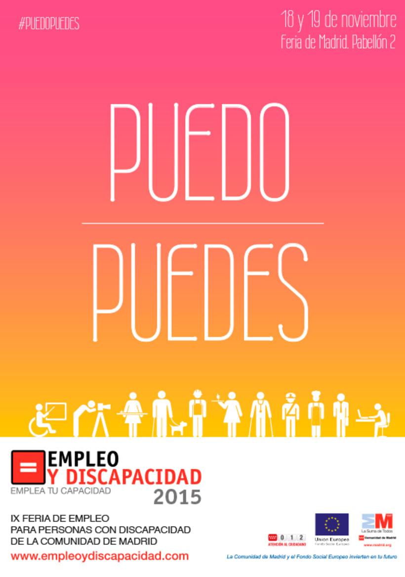 Empleo y Discapacidad 2015 - Propuesta de Imagen 2