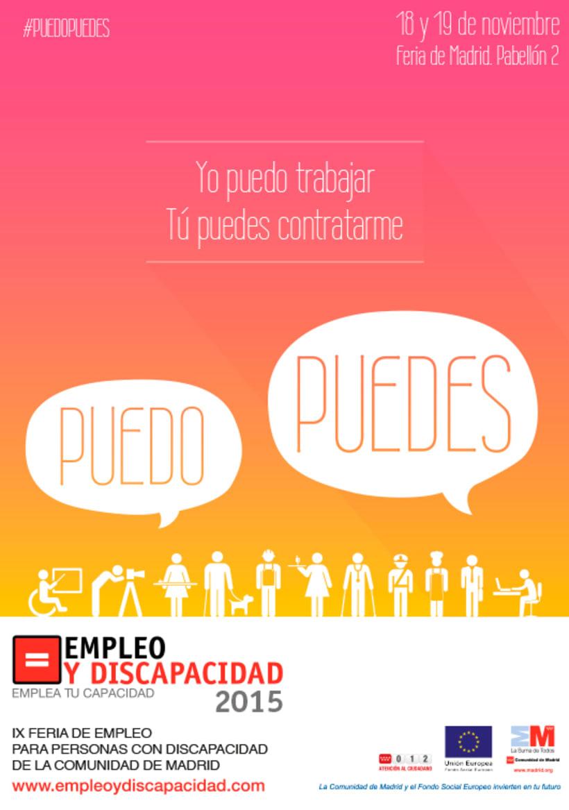 Empleo y Discapacidad 2015 - Propuesta de Imagen 4