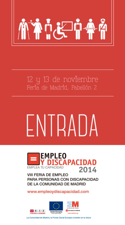 Empleo y Discapacidad 2014 - Imagen y Material Gráfico 0