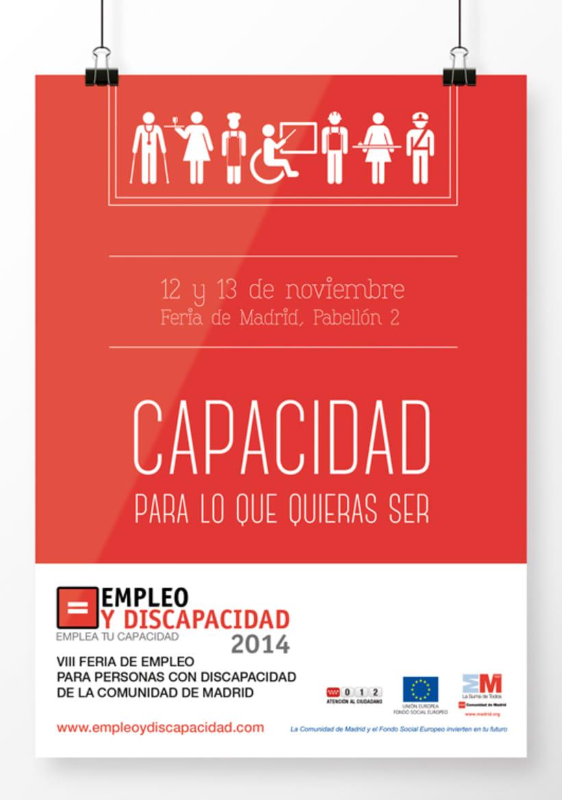 Empleo y Discapacidad 2014 - Imagen y Material Gráfico 1