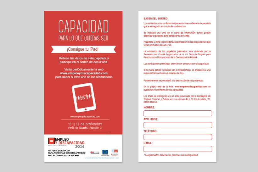 Empleo y Discapacidad 2014 - Imagen y Material Gráfico 6
