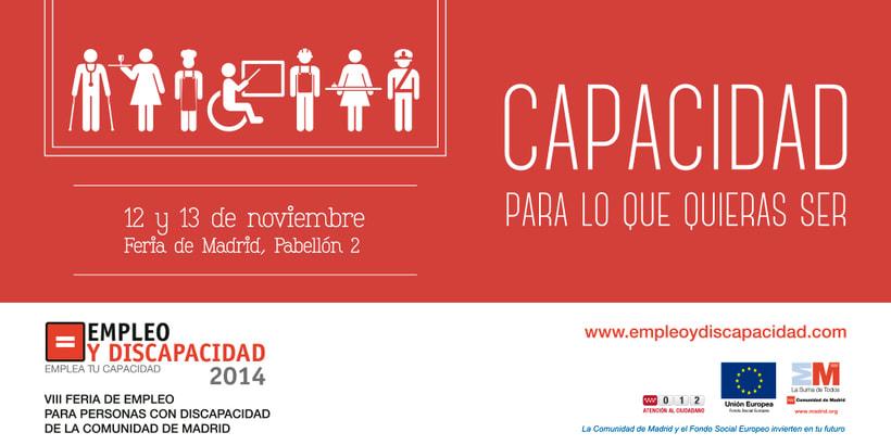 Empleo y Discapacidad 2014 - Imagen y Material Gráfico 8