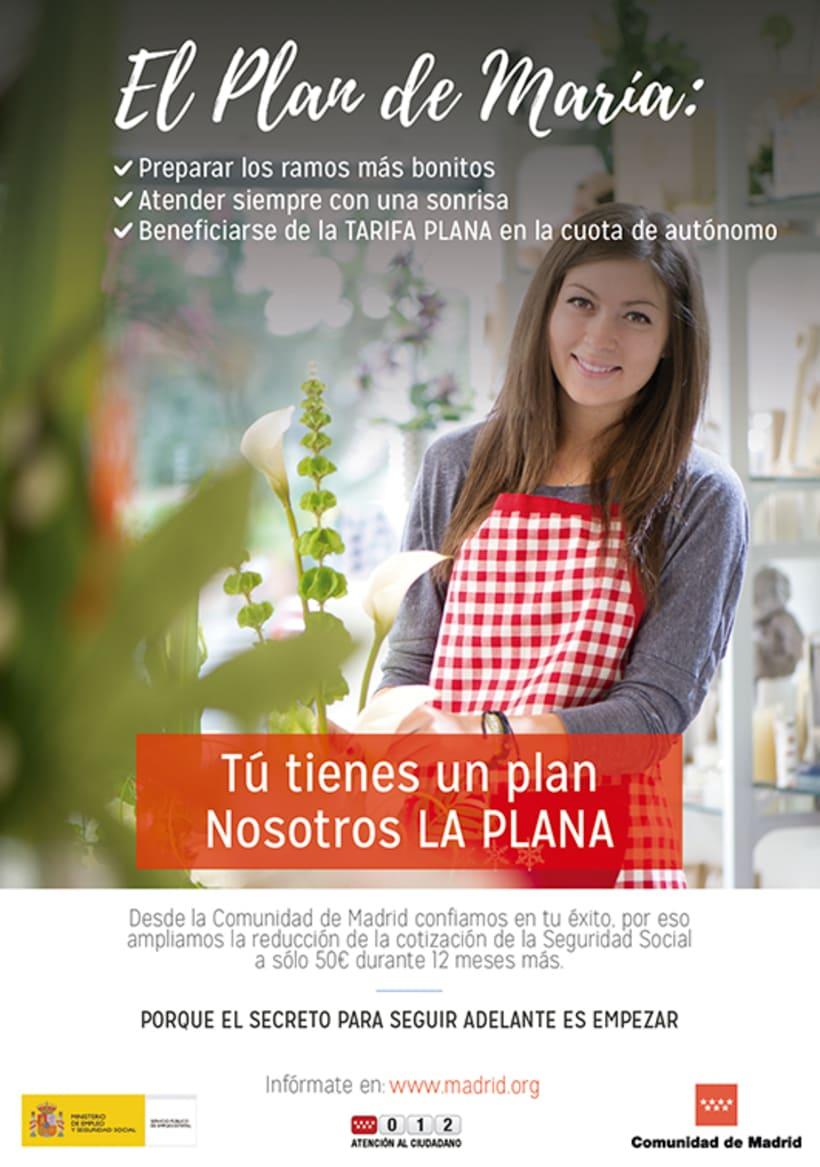 """Campaña """"El Plan"""" - Comunidad de Madrid 0"""