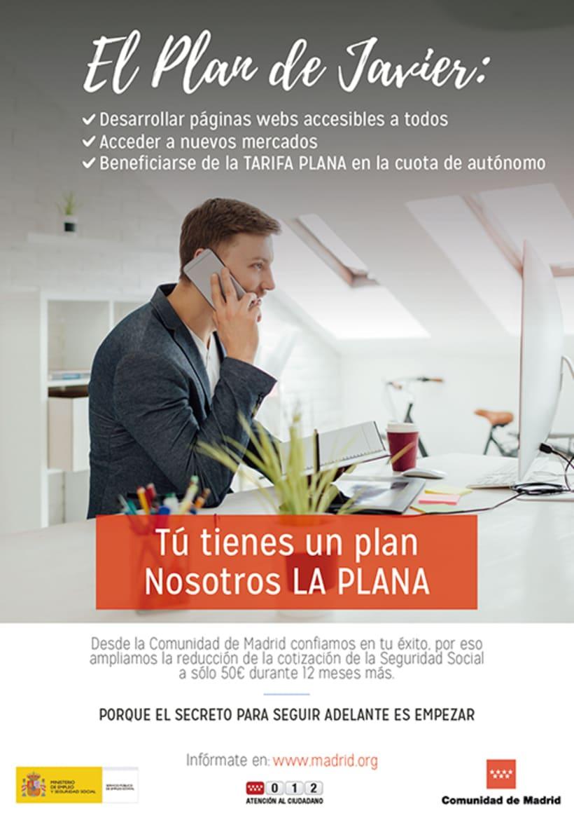 """Campaña """"El Plan"""" - Comunidad de Madrid 1"""