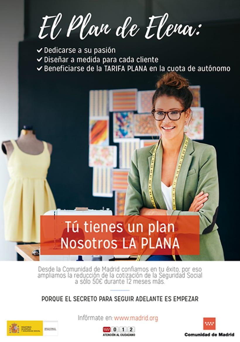 """Campaña """"El Plan"""" - Comunidad de Madrid 2"""