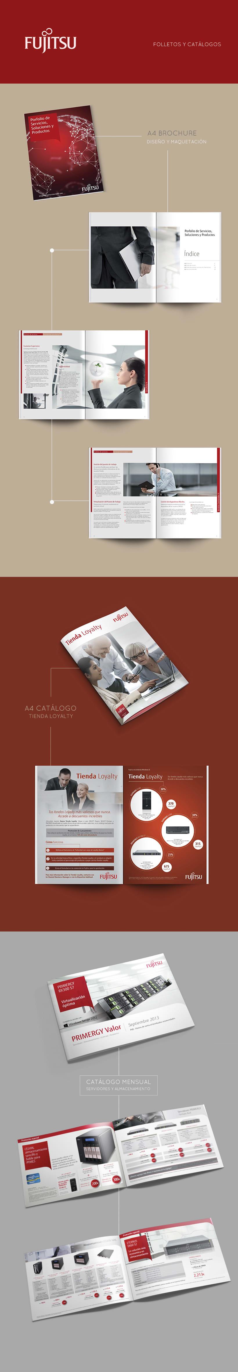 Folletos y catálogos Fujitsu 0