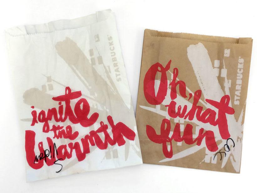 Diseñador de packaging en Starbucks de día, ilustrador de noche 6