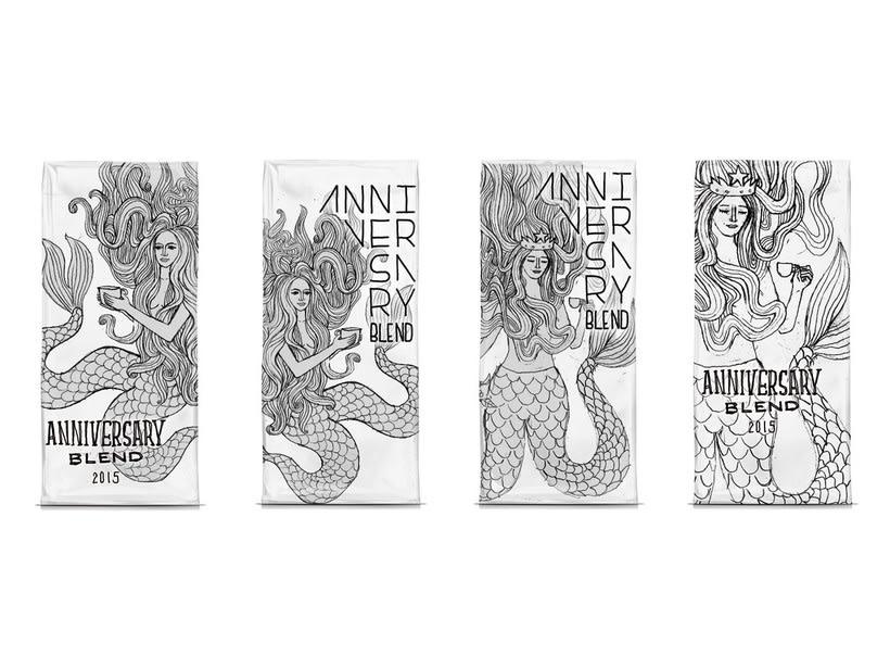 Diseñador de packaging en Starbucks de día, ilustrador de noche 13