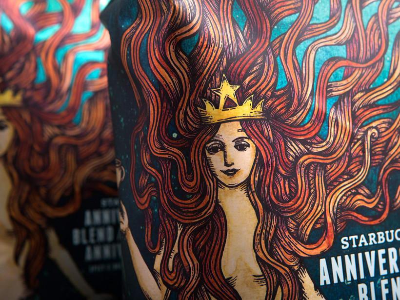 Diseñador de packaging en Starbucks de día, ilustrador de noche 15
