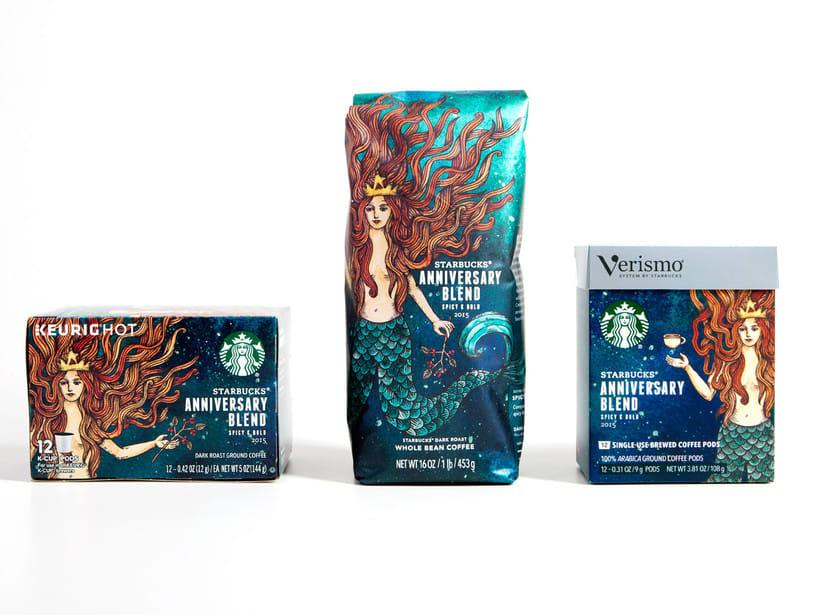 Diseñador de packaging en Starbucks de día, ilustrador de noche 12