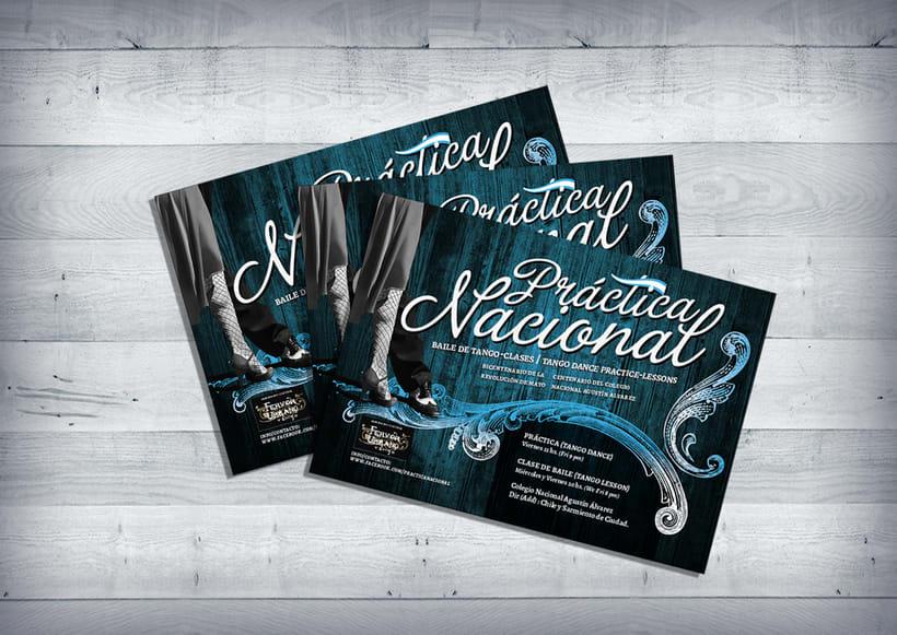 Flyer promocional :: Clases de Tango 0