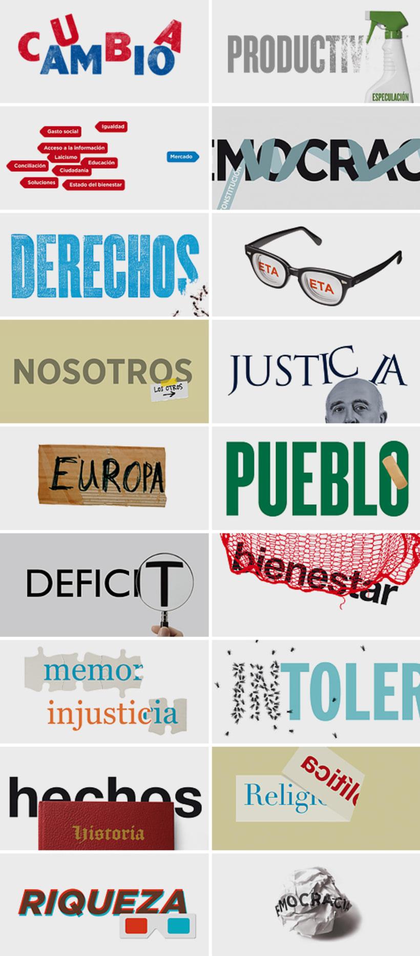 Ilustraciones tipográficas para Público 0