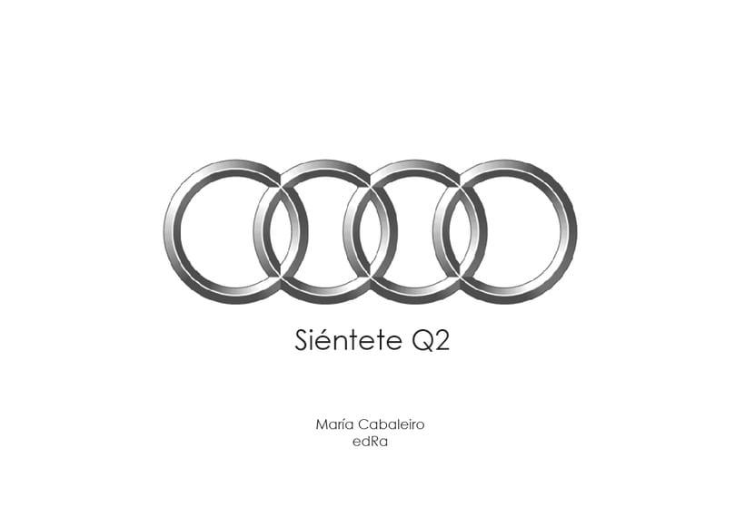 Evento Audi: Presentación Audi Q2 (2º Curso Interiorismo Gráfico) 0