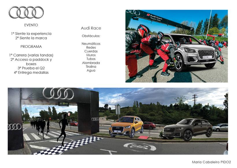 Evento Audi: Presentación Audi Q2 (2º Curso Interiorismo Gráfico) 7