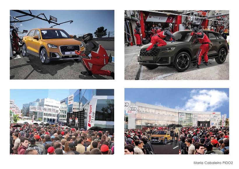 Evento Audi: Presentación Audi Q2 (2º Curso Interiorismo Gráfico) 8