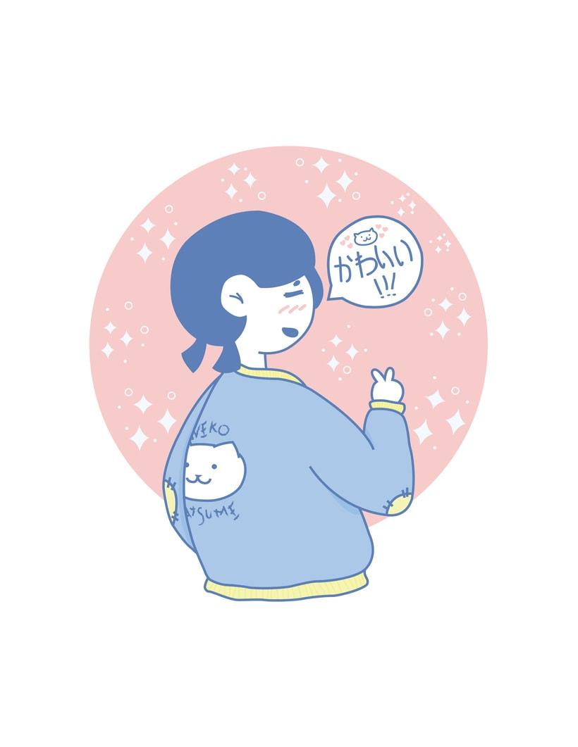 Neko Atsume Fan -1