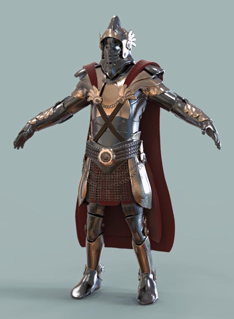 Armadura medieval -1