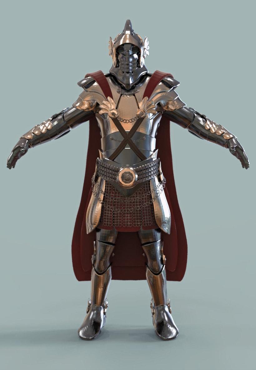 Armadura medieval 0