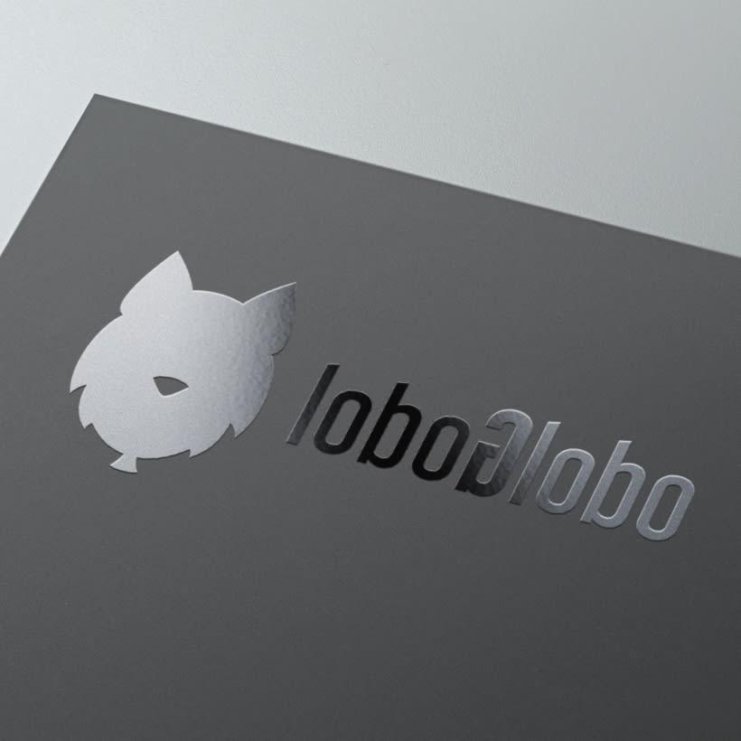 Imagotipo para LoboGlobo, empresa de marketing on-line. -1