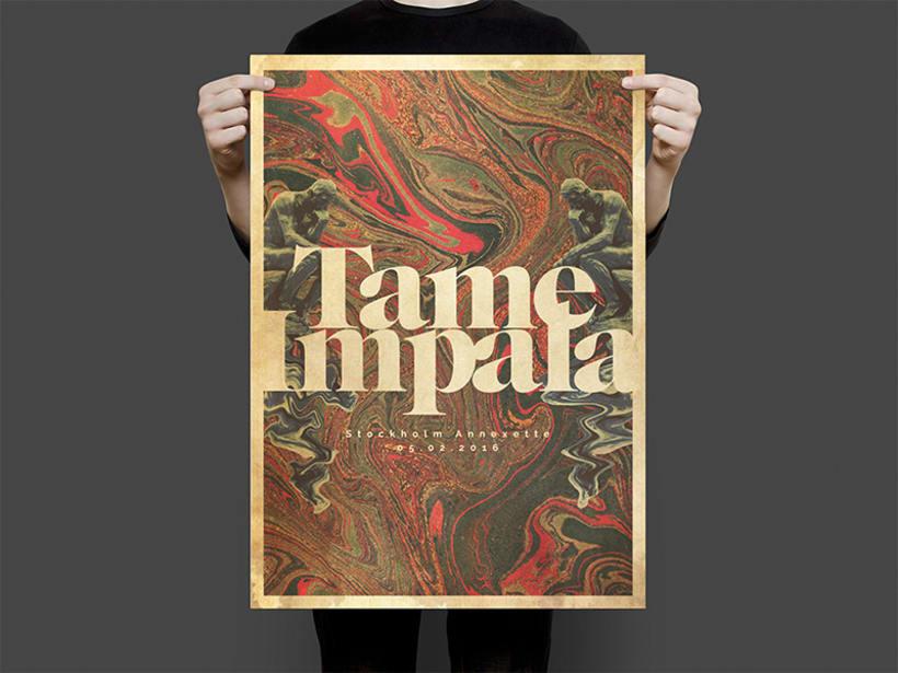 Tame Impala Gig poster 1