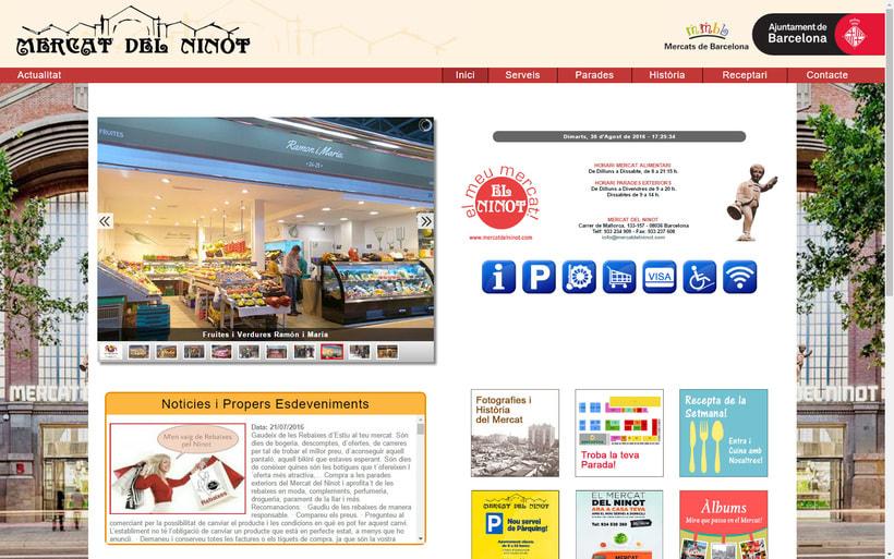 Web Mercat del Ninot 0