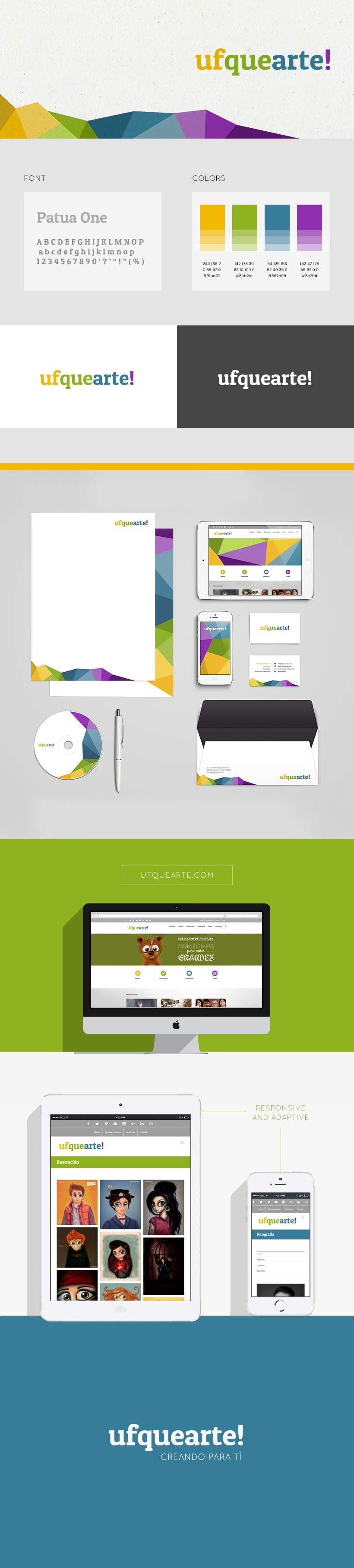 Ufquearte! - Diseño corporativo y web 1