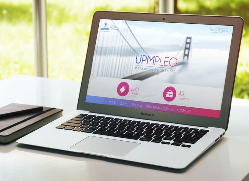 UPMpleo - Portal de Empleo de la UPM 2
