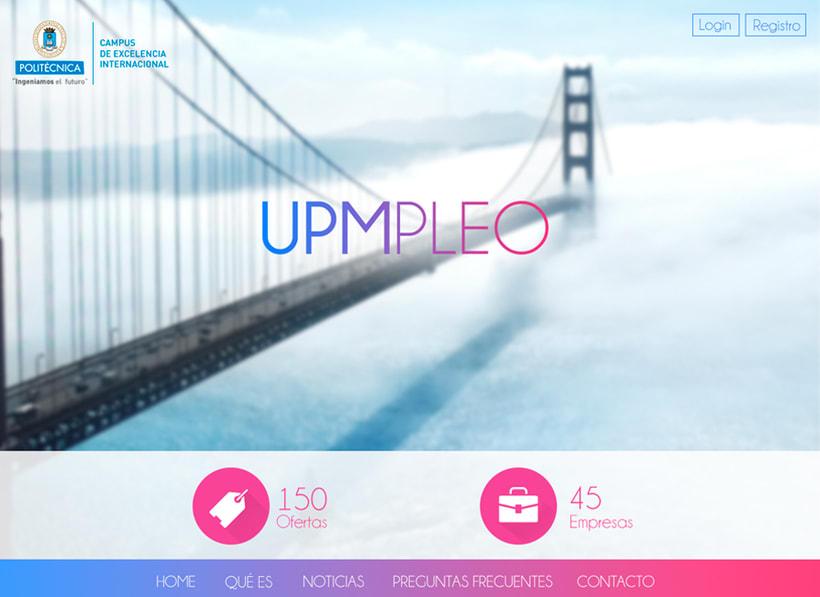 UPMpleo - Portal de Empleo de la UPM 3