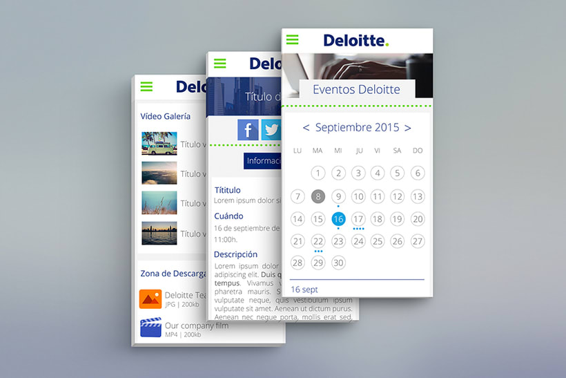 Deloitte - Eventos Deloitte 2
