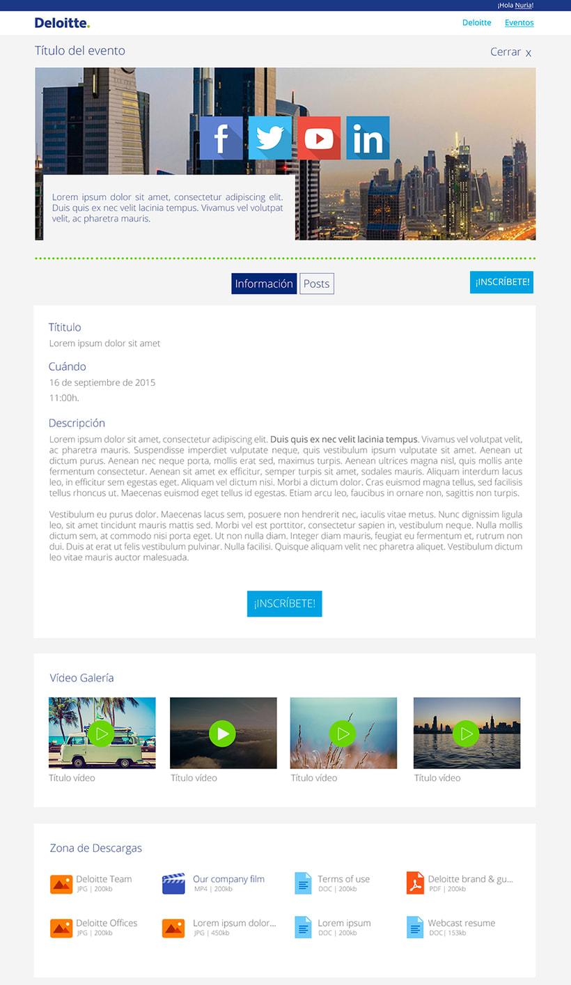 Deloitte - Eventos Deloitte 5
