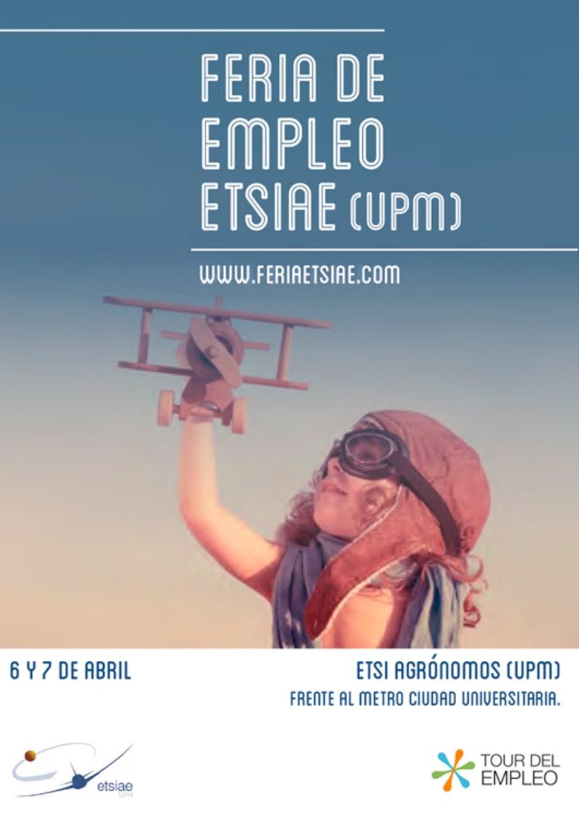 Feria de Empleo ETSIAE (UPM) - Propuesta de Imagen -1