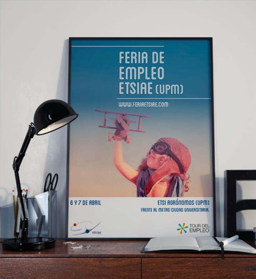 Feria de Empleo ETSIAE (UPM) - Propuesta de Imagen 0