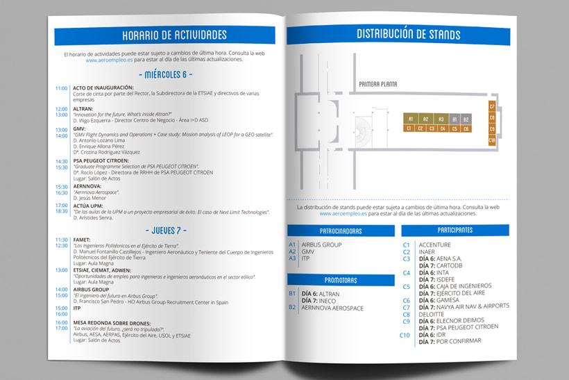 Feria de Empleo ETSIAE (UPM) - Imagen, Material Gráfico y Web 2