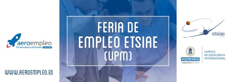 Feria de Empleo ETSIAE (UPM) - Imagen, Material Gráfico y Web 4