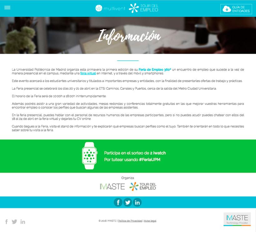 Tour del Empleo - Plantilla de Wordpress 2