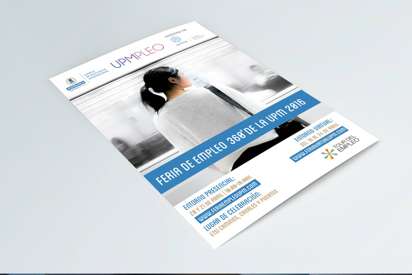 Feria de Empleo de la UPM - Imagen, Material Gráfico y Web 1