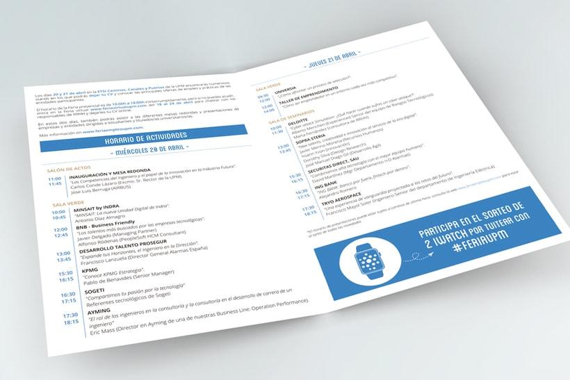 Feria de Empleo de la UPM - Imagen, Material Gráfico y Web 2