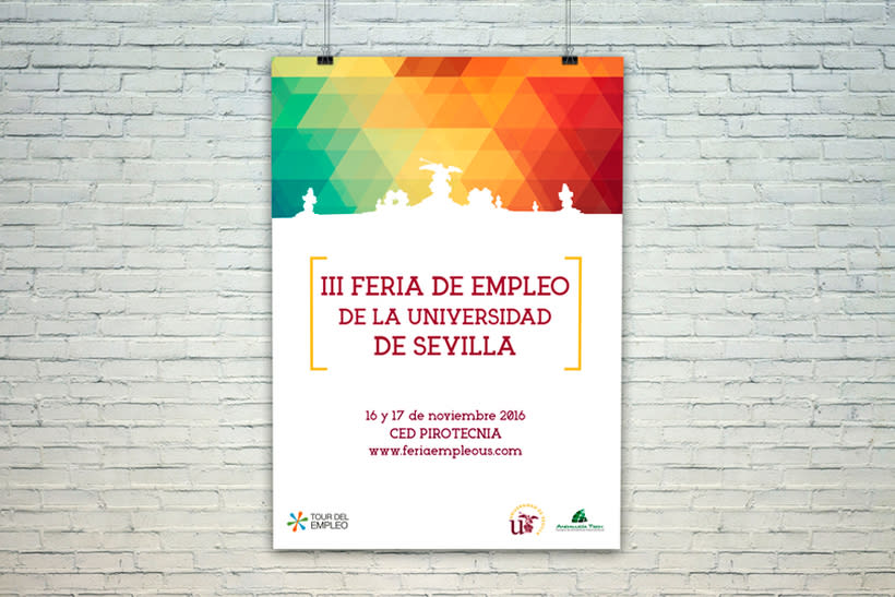 III Feria de Empleo de la Universidad de Sevilla - Imagen y Web 0