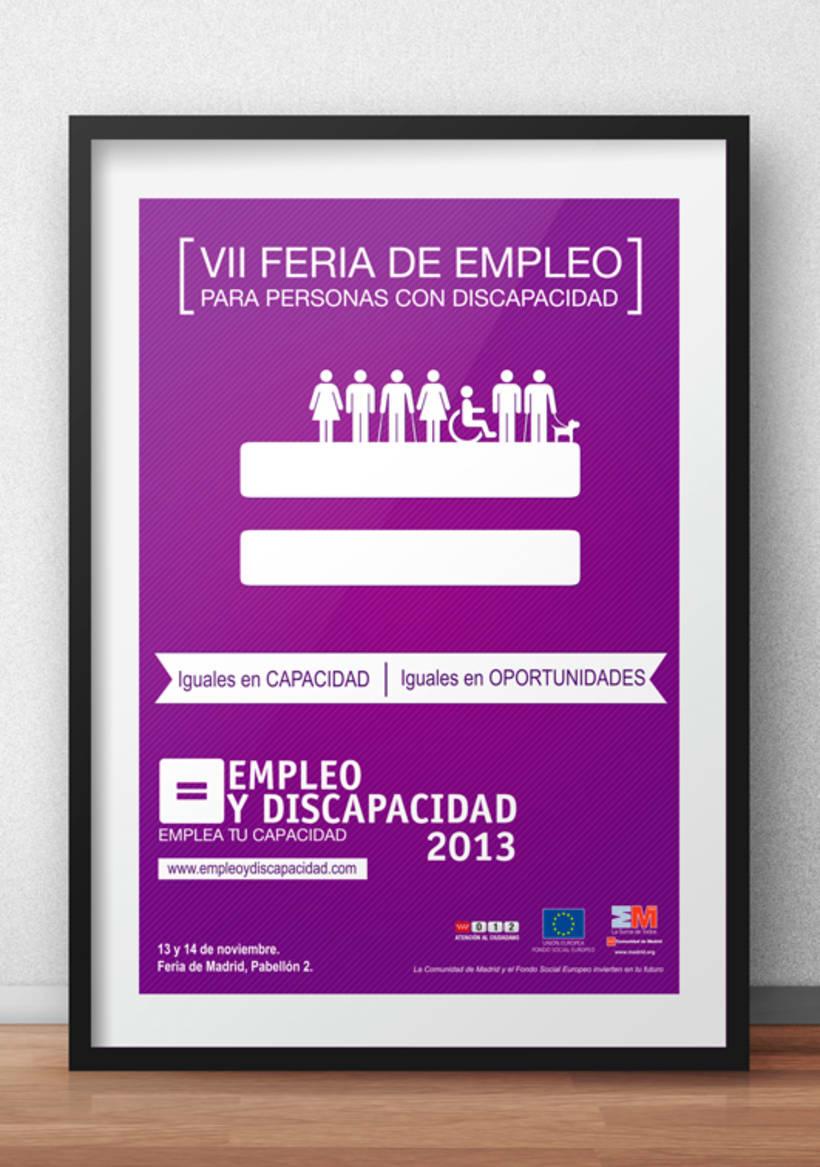 Empleo y Discapacidad 2013 - Imagen y Material Gráfico 0